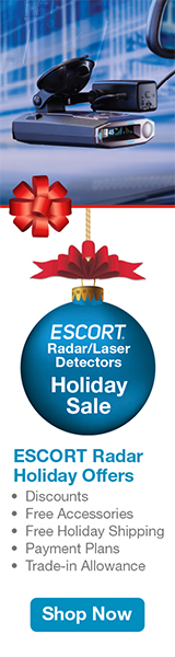 Escort Radar Holiday Deals