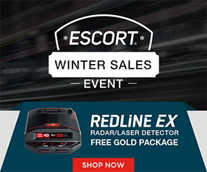 Free Gold Package Upgrade with purchase of a Redline Ex Radar Detector! Gold Package includes 3 year Defender Database, additional 2 years of service protection, and a download cable. $90 value. Use Code REDLINEGOLD. Offer expires 3/3