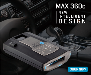 The new ESCORT MAX 360c is the first radar and laser detector designed for the connected car.