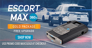 Gold package UPGRADE-Escort MAX360c @EscortRadar.com