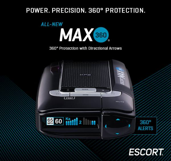 All New MAX 360 - Power, Precision, 360  Degree Protection