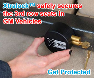 3RD Row Seat Lock System