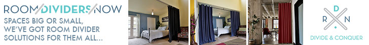 Create Privacy and Divider Your Space With Ease!