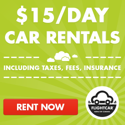 Car Rentals for $15 per day