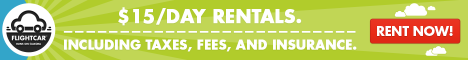 Car Rentals for $15 per day
