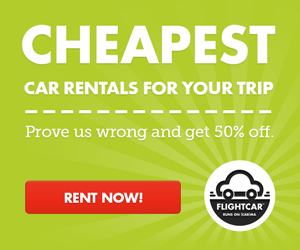 FlightCar cheap car rentals