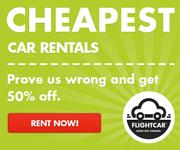 FlightCar cheap car rentals