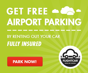 Get free airport parking