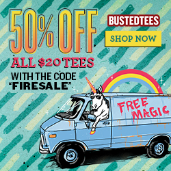 BustedTees 20 for $10 New Release!