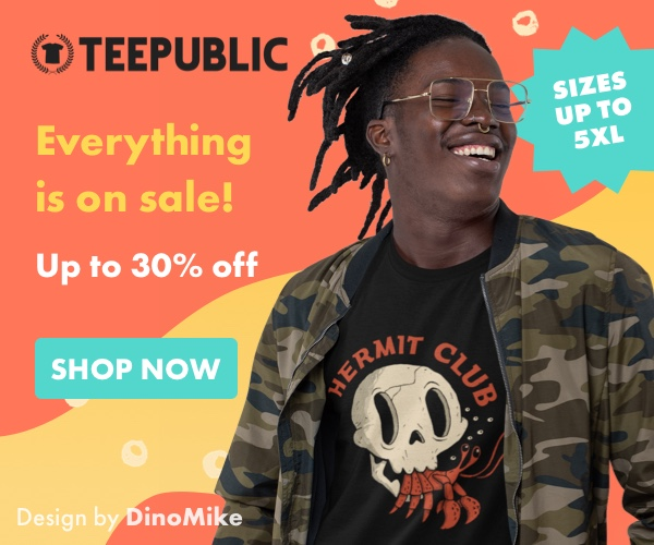 TeePublic - Support independent designers