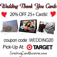 Wedding Thank You Cards 20% Off At GreetingCardUniverse.com