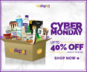 Cyber Monday Sale. Save up to 40% Off at Tal Depot