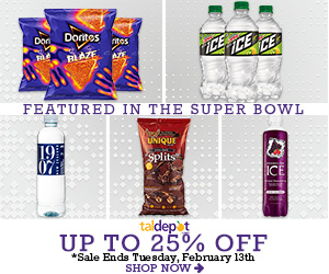 Featured in the Super Bowl. Up to 25% off on Select Brands