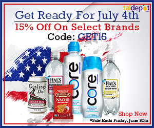 Get Ready for July 4th. Use Code: GET15 At Checkout and Get 15% OFF on Select Brands