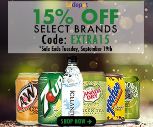 Select Brands Sale. Use Code: EXTRA15 at Checkout and Get 15% OFF on Select Brands