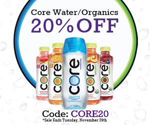 Core Sale. 20% OFF For Any Core Drink