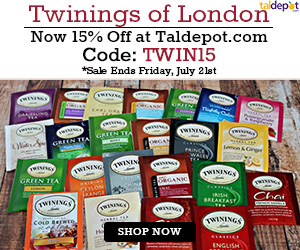Twinings of London Sale. Use Code: TWIN15 at Checkout and Get 15% OFF for All Twinings of London Tea