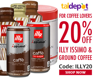Illy Issimo Sale. 20% OFF For All Illy Issimo and Ground Coffee
