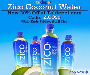 Zico Water Sale. Use Code: ZICO20 at Checkout and Get 20% OFF for Any Zico Water
