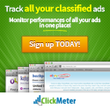 Track all your Online Classified Ads