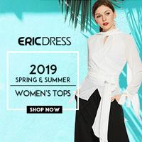 Ericdress 2019 Spring Summer Tops 80% OFF, Buy Now!