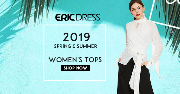 Ericdress Up to 90% off Sitewide & Extra 20% off over $119 Code:CRAZY20(10.1-3.31)
