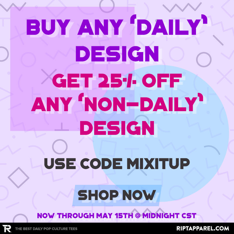 Buy A Daily, Get 25% Off Non Daily at RIPT Apparel