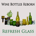 Refresh Glass - Wine Bottles into Glasses and More!