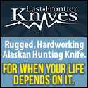 Rugged, Hardworking Alaskan Hunting Knife.  For when your life depends on it