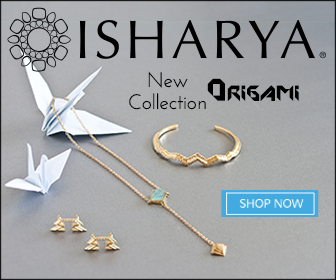 Isharya Jewelry Origami Collection