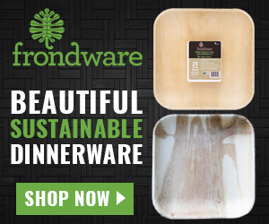 Frondware Disposable Dinnerware