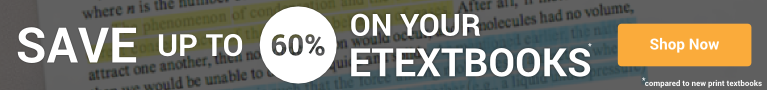 60% off eBooks and eTextbooks