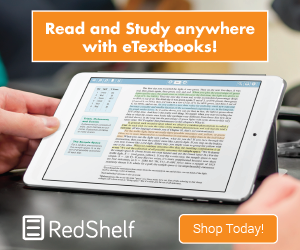 Read and Study anywhere with eTextbooks!