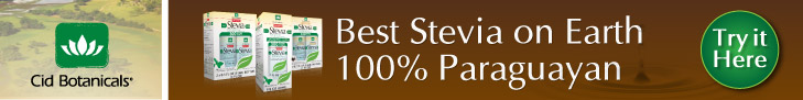 Best Stevia on Earth @cidbotanicals