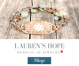 Lauren's Hope Medical ID Jewelry