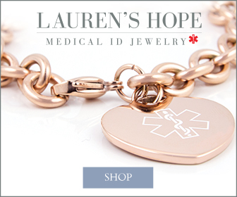 Rose Gold Tone Medical ID Bracelet