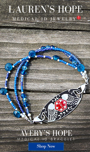 Avery's Hope Medical ID Bracelet
