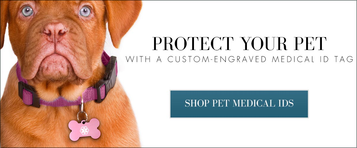 Pet Medical ID Tags by Lauren's Hope