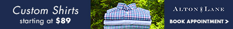 Custom Shirts from $89. SHOP NOW>