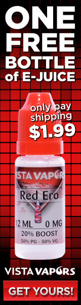 One Free Bottle of E-Juice - Just Pay $1.99 Shipping