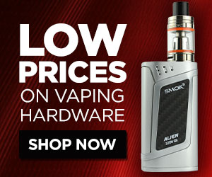 Low Prices on Vaping Hardware
