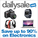 Find huge savings on electronics retail prices at DailySale.com