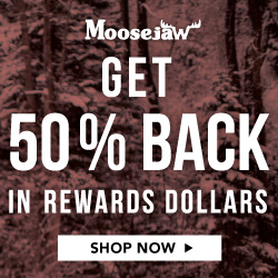 Use code 5XREWARD and get 50% back in Moosejaw Rewards Dollars, and 12.5% back on sale stuff. This is a pretty big deal. Ask anybody. 11/28/16 only, so hop to.