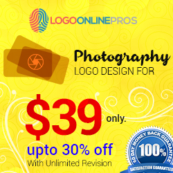 Get Photography Logo Design for ONLY $39!