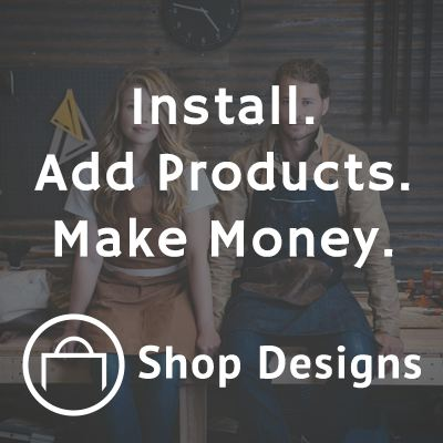 Install. Add Products. Make Money. WooCommerce themes from Shop Designs.