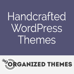 Handcrafted WordPress themes from Organized Themes