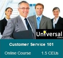 Customer Service 101 - Universal Class Online Course