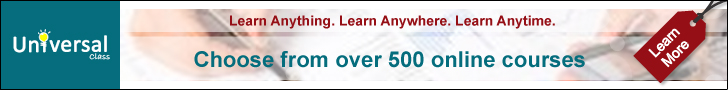 Universal Class - Choose from Over 500 Online Courses with CEUs