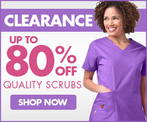 Clearance Scrubs up to 80% OFF