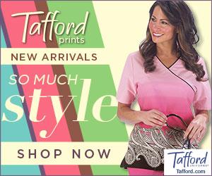 new Tafford scrub prints